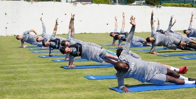 Trabzonspor, hazırlıklarını sürdürüyor