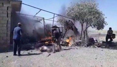 Resulayn'da bomba yüklü motosiklet patladı