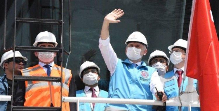 Filyos Limanı Projesi'nde yüzde 67 ilerleme sağlandı