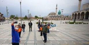 Konya'da açık alanlarda da maske takma zorunluluğu getirildi