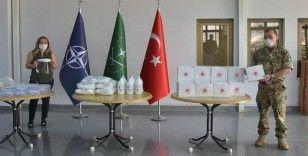 NATO'da görevli personele sağlık malzemesi desteği