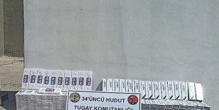 Şemdinli'de 2 bin 890 paket kaçak sigara ve 59 tablet ilaç ele geçirildi