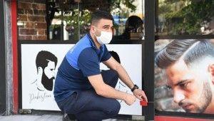 İstanbul'da kurallara uymayan berberler mühürlendi