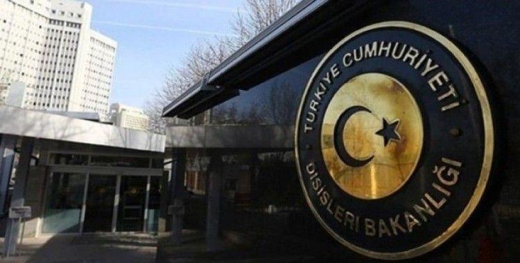 Dışişleri Bakanlığı: 'AB2nin Doğu Akdeniz açıklamaları hiçbir amaca hizmet etmiyor'