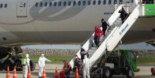 Amerika'dan getirilen 354 Türk vatandaşı Ordu ve Giresun'da karantinaya alındı