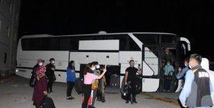 ABD'den gelen 349 Türk vatandaşı Burdur ve Isparta'ya yerleştirildi
