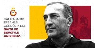 Galatasaray, 'Baba' Gündüz'ü andı