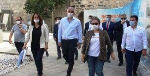 Bakan Ersoy Bodrum'daki turizmcilere müjdeyi verdi