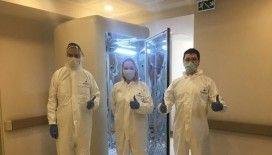 Türk bilim insanları geliştirdi; Koronavirüsü 30 saniyede öldüren kabin