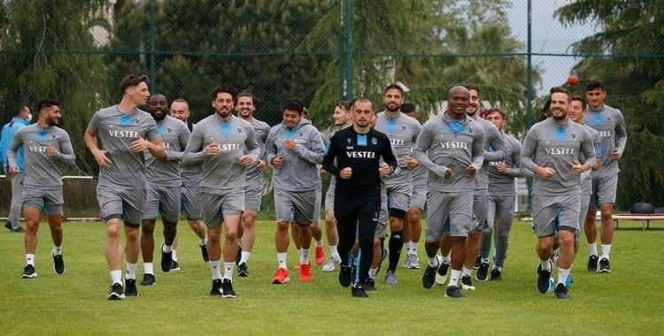 Trabzonspor iki günlük iznin ardından hazırlıklarına başladı