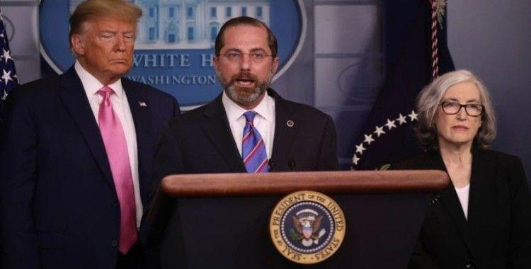 ABD Sağlık Bakanı Azar'dan Dünya Sağlık Örgütü'ne suçlama