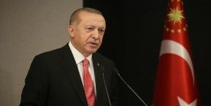 Cumhurbaşkanı Erdoğan'dan şehitler için taziye mesajı