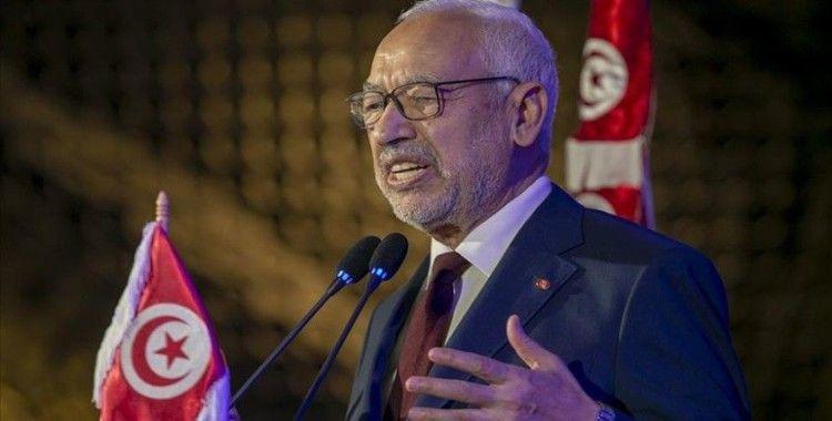 Gannuşi'den Libya Başbakanı Serrac'a 'Vatiyye Hava Üssü' tebriği