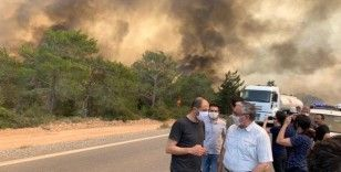 KKTC'deki yangınlarda organize sabotaj ihtimali