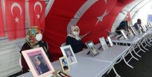HDP önündeki ailelerin evlat nöbeti 260'ıncı günde