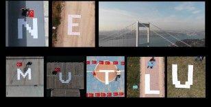 Drone pilotlarından 19 Mayıs mesajı