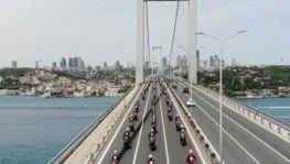 İstanbul polisinin 19 Mayıs korteji