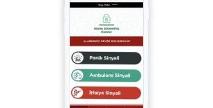 Acil yardım hizmetlerine ücretsiz hızlı ulaşım uygulaması