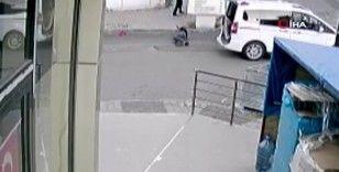 Maltepe'de silahlı saldırganın fırıncılara kurşun yağdırdığı anlar kamerada