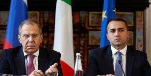 İtalya ve Rusya dışişleri bakanları telefonda Libya'yı görüştü