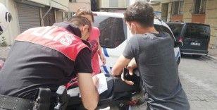 Kısıtlama gününde sokak ortasında kavgaya para cezası
