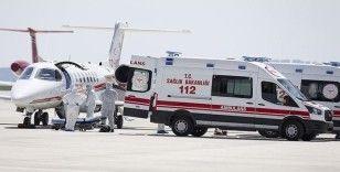 Sağlık Bakanlığı ambulans uçağından bir gecede iki operasyon