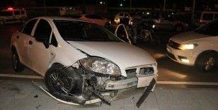 Polisten kaçarken kaza yapıp yakalandı