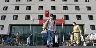 AFAD: Yurtlarda karantinada bulunanlardan 66 bini tahliye edildi