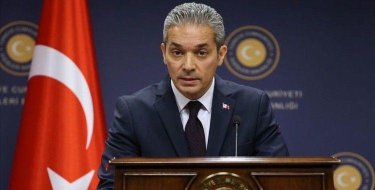 Aksoy'dan AB Komisyonu Başkan Yardımcısı Schinas'ın 'göç' açıklamasına tepki