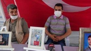HDP önündeki ailelerin evlat nöbeti 261'inci günde