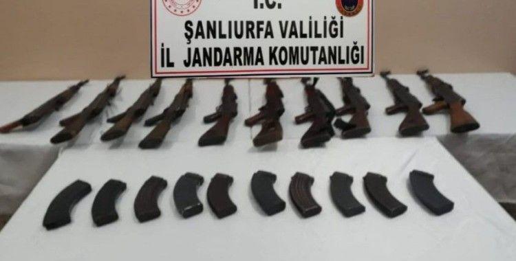 Operasyonda 10 adet uzun namlulu silah ele geçirildi