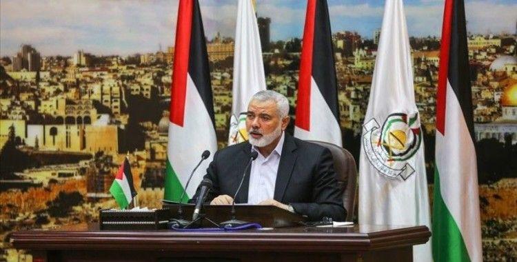 Hamas Siyasi Büro Başkanı Heniyye'den, İsrail tehlikesine karşı kapsamlı plan çağrısı