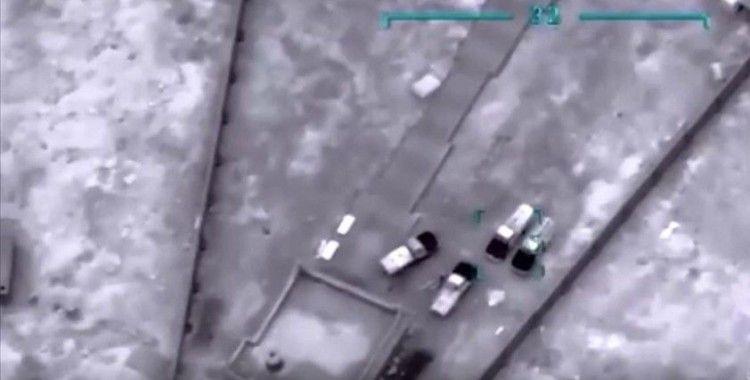 Libya ordusundan Terhune'deki Hafter milislerine hava harekatı