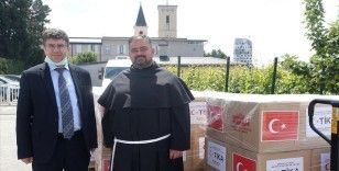 TİKA'dan Hırvatistan'daki ihtiyaç sahiplerine gıda yardımı