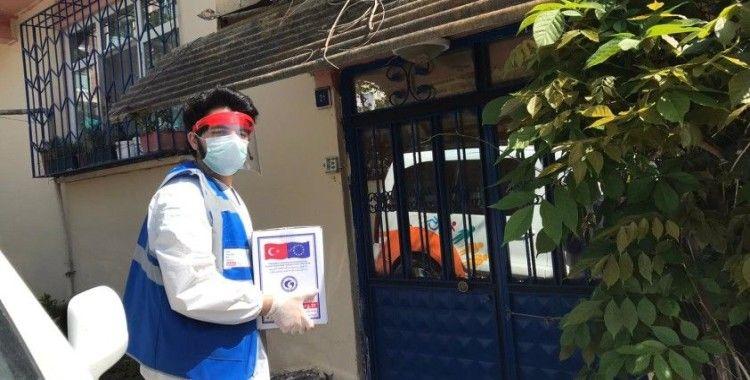 Korona virüs ile mücadele kapsamında hijyen kiti dağıtımı