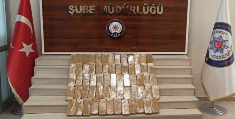Van'da 157 kilo uyuşturucu ele geçirildi