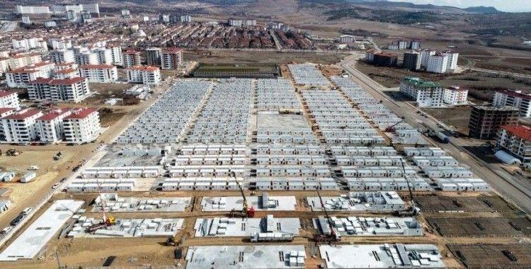 Depremzede bin 640 aile konteyner kentlere yerleşti, nakdi yardım 93 milyonu geçti