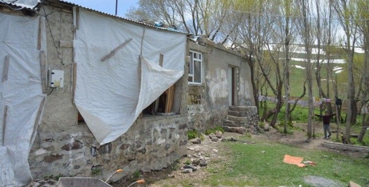 Selden etkilenen Başkent köyünde hasar tespit çalışmaları başladı