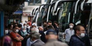 Çay üreticileriyle 65 yaş ve üstü vatandaşlar, İstanbul'dan ayrılmaya başladı