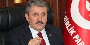 BBP Genel Başkanı Destici: 'Soykırımın 155. yılında kaybettiğimiz kardeşlerimize Cenab-ı Allah'tan rahmet diliyorum'
