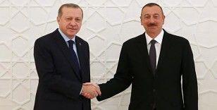Cumhurbaşkanı Erdoğan'dan Aliyev'e tebrik mektubu