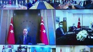 Cumhurbaşkanı Erdoğan, AK Parti İl Başkanları toplantısında konuştu