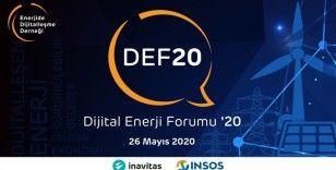 Dijital Enerji Forumu'20 haftaya başlıyor
