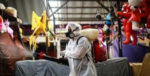 Meksika'da Kovid-19 nedeniyle son 24 saatte 420 kişi öldü