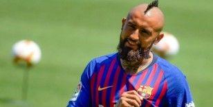 Vidal: 'Barcelona'da mutluyum'