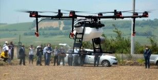 TARNET, çeltik ekim alanlarını zirai insansız hava aracı ile ilaçlayacak