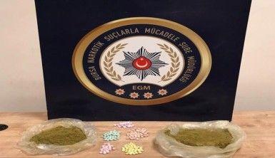 Bursa'da uyuşturucu satıcısı kadından 800 gram toz esrar çıktı