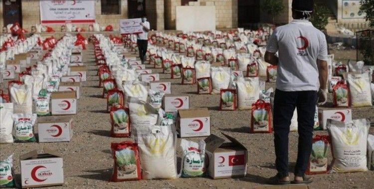 Türk Kızılay ramazan yardımlarıyla milyonlarca insana el uzattı