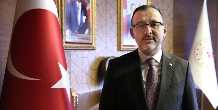 Bakan Kasapoğlu'ndan bayram mesajı