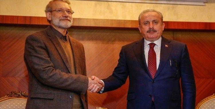 Şentop, Irak Meclis Başkanı el-Halbusi ile görüştü